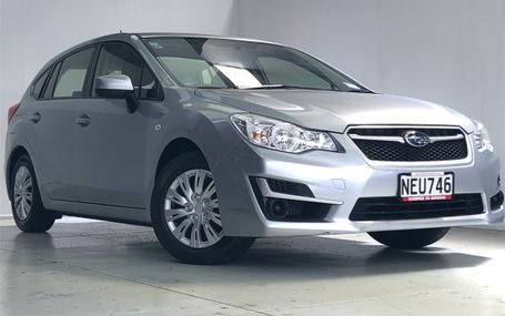 2016 Subaru Impreza `` DARK TRIM `` Test Drive Form
