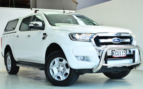 2016 Ford Ranger XLT DOUBLE CAB W/S A Test Drive Form
