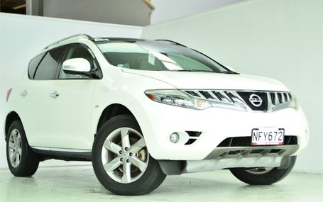 2009 Nissan Murano `` 4WD LEATHER TRIM `` Test Drive Form