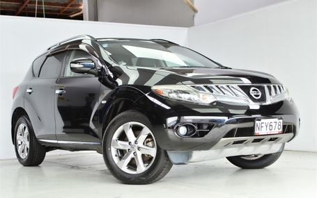 2008 Nissan Murano 4WD Test Drive Form