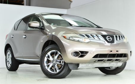 2009 Nissan Murano 4WD Test Drive Form