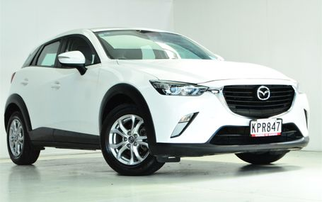 2017 Mazda CX-3 GLX 2.0P/6AT/SW/5DR Test Drive Form
