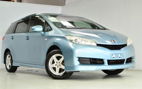2009 Toyota Wish `` 7 SEATER `` Test Drive Form