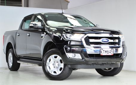 2017 Ford Ranger XLT DOUBLE CAB W/S A Test Drive Form