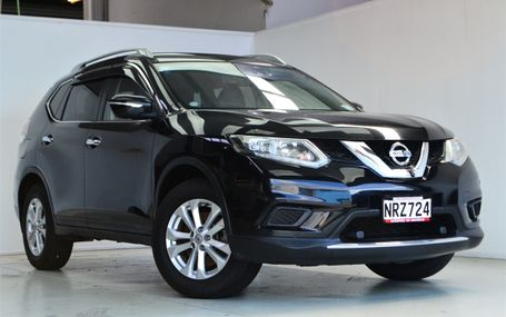 2016 Nissan X-Trail `` LEATHER TRIM 7 SEATER `` Test Drive Form