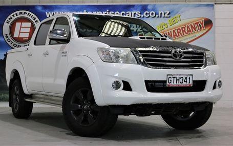 2013 Toyota Hilux SR5 4WD 3.0 T/DIESEL D/CAB Test Drive Form