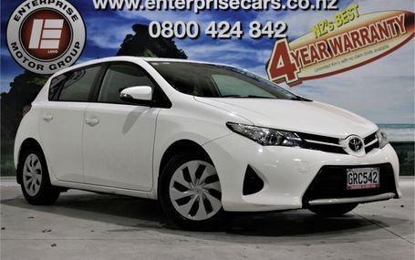 2013 Toyota Corolla GX 1.8 40,000 KMS Test Drive Form
