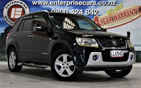 2007 Suzuki Escudo 2.0 4WD SALOMON LTD Test Drive Form
