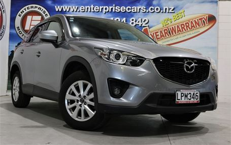 2013 Mazda CX-5 XD DIESEL POWER Test Drive Form