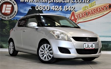 2011 Suzuki Swift XL FREE ON ROADS Test Drive Form