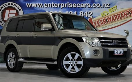 2006 Mitsubishi Pajero VERY POPULAR Test Drive Form