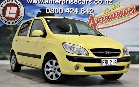 2010 Hyundai Getz 1.4 GREAT ON GAS Test Drive Form