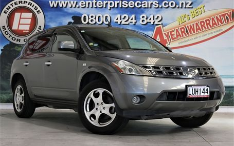 2007 Nissan Murano 350 XV 4WD Test Drive Form