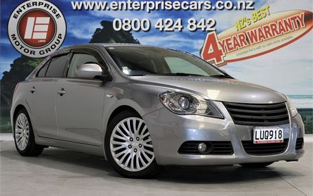 2013 Suzuki Kizashi 4WD 8 AIRBAGS LEATHER SEATS Test Drive Form