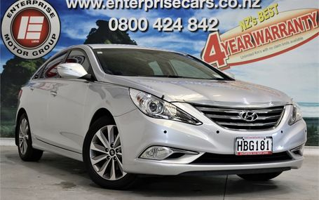 2013 Hyundai i45 ELITE A6 NZ NEW Test Drive Form