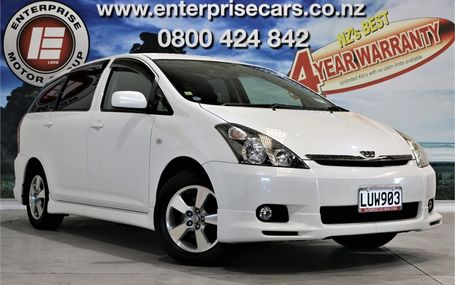 2005 Toyota Wish X AERO FREE ON ROAD COSTS Test Drive Form