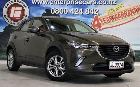 2015 Mazda CX-3 GLX 2.0 NZ NEW HATCH Test Drive Form