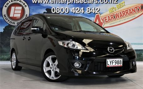 2008 Mazda Premacy 20Z FREE ON ROAD COSTS Test Drive Form