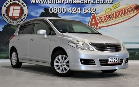 2011 Nissan Tiida AXIS NO DEPOSIT TERMS Test Drive Form