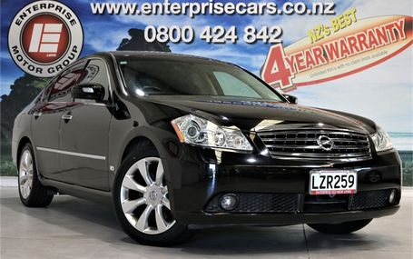 2006 Nissan Fuga 350 GT LTD 72,000 KMS Test Drive Form