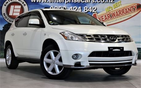 2004 Nissan Murano 350 XV 4WD 3.5 V6 Test Drive Form
