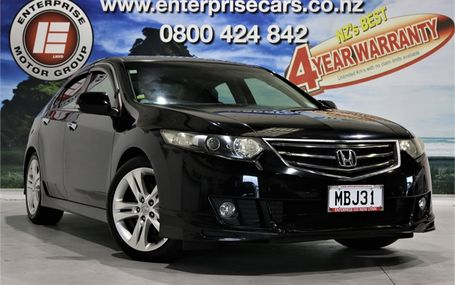 2009 Honda Accord 24 TL SPORTS STYLE Test Drive Form