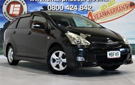 2007 Toyota Wish X AERO 58,000 KMS ONLY Test Drive Form