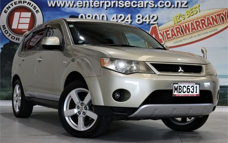 2006 Mitsubishi Outlander G 4WD 7 SEATER Test Drive Form
