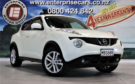 2010 Nissan Juke 15 RX STUNNING IN WHITE Test Drive Form