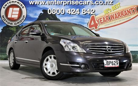 2010 Nissan Teana EASY ONLINE FINANCE Test Drive Form