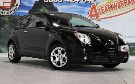 2010 Alfa Romeo MiTo HATCH FREE ON ROAD COSTS Test Drive Form