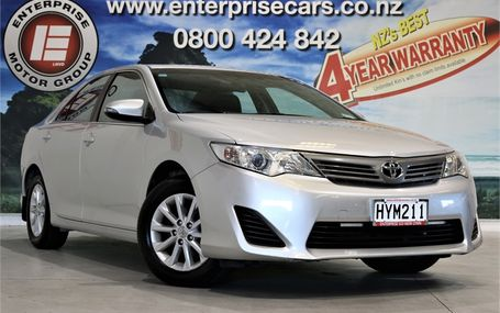 2015 Toyota Camry GL 2.5 NZ NEW Test Drive Form
