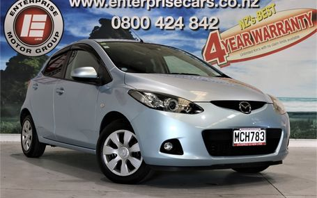 2008 Mazda Demio 13 C-V GREAT ON GAS Test Drive Form