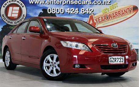 2007 Toyota Camry GLX LEATHER TOP SPEC Test Drive Form