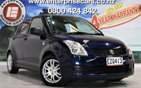 2009 Suzuki Swift GLXA 1.5 55,000 KMS Test Drive Form