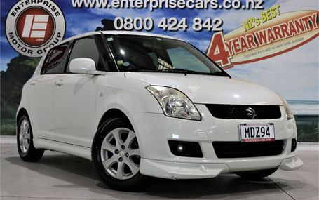 2009 Suzuki Swift XG AERO 47,000 KMS Test Drive Form