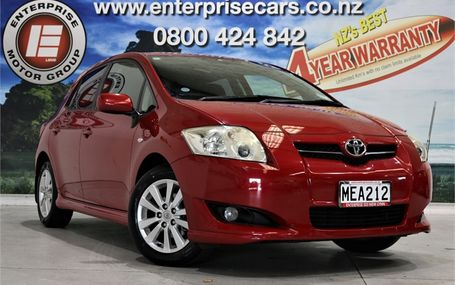 2007 Toyota Auris S PACK 41,000 KMS Test Drive Form