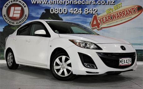 2010 Mazda Axela 15C ALWAYS POPULAR Test Drive Form