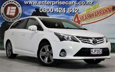 2014 Toyota Avensis WAGON NZ NEW - POPULAR Test Drive Form