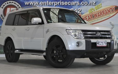2007 Mitsubishi Pajero EXCEED 7 SEATER 4WD Test Drive Form