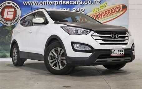 2013 Hyundai Santa Fe DM 98,000 KMS Test Drive Form