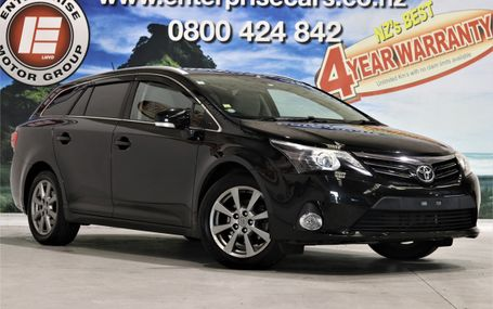 2012 Toyota Avensis LI RELIABILITY PLUS Test Drive Form