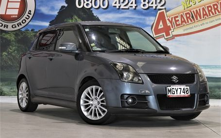2008 Suzuki Swift SPORTS 5 SPEED Test Drive Form