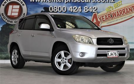 2006 Toyota RAV4 POPULAR SUV Test Drive Form