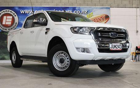 2016 Ford Ranger XLT D/C NEW SHAPE Test Drive Form