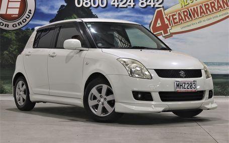 2009 Suzuki Swift XG AERO GAS SAVER Test Drive Form