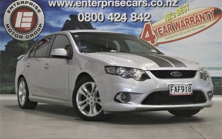 2009 Ford Falcon FG XR6 SEDAN A Test Drive Form