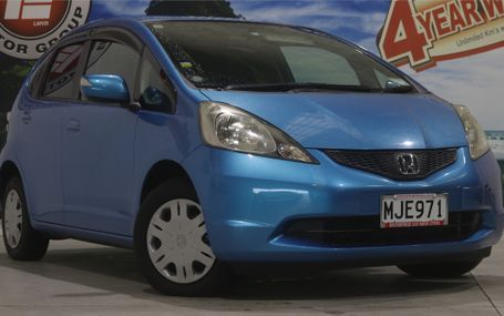 2010 Honda Fit G 42,000 KMS Test Drive Form