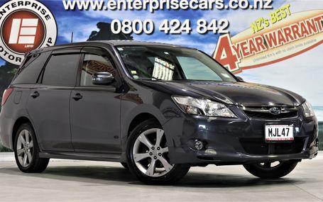 2012 Subaru Exiga 2.0 I-S 72,000 KMS Test Drive Form