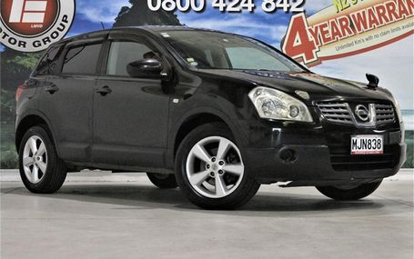 2007 Nissan Dualis 20G 4WD 71,000 KMS Test Drive Form